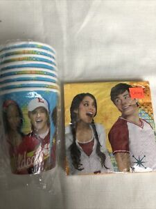Disney High School Musical Birthday Party Tableware Napkins, Cups