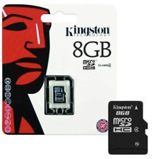 Neues AngebotKingston Micro SD 8gb Speicherkarte SDHC Handy Class 4