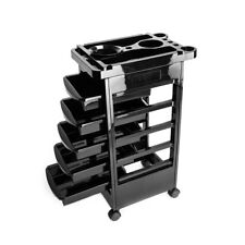 5 Drawer Beauty Salon Styling Station Trolley Cart Tattoo Equipment Roll Storag