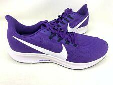 NEW! Nike Men's Air Zoom Pegasus 36 Lace Up Shoes Size:10.5 Pple/Wht 143P tz