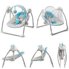 Transats et balancelles bleus pour bébé