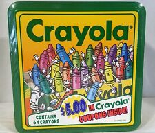 NEW 1992 Crayola, 64 Crayons, by Binney & Smith, Collectible Tin - Sealed