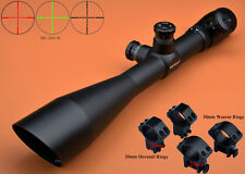 Free Ship Saxon 4-16x50 R/G Mil Dot Hunting Rifle Scope W/2 Kings of Rings