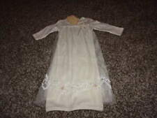 NWT NEW BABY BISCOTTI NB NEWBOWN LEACE GOWN