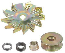 "WIDE BELT PULLEY 5/8"" - 3/4"" Fan & Spacer 10DN 10SI 12SI Tractor Alternator Kit"