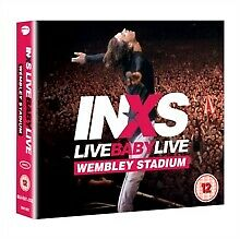 INXS Live Baby Live Wembley Stadium Remixed & Remastered Blu-Ray & 2 CD NEW