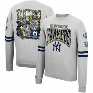 New York Yankees Mitchell & Ness Cooperstown Collection Pullover Sweatshirt -