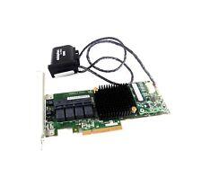 Adaptec ASR - 71605 Sata/sas RAID Controller 4 X Mini SAS HD Ports PCIe Card