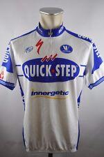 Vermarc Quick Step UCI vintage Cycling Jersey bike rueda camiseta talla xxl 59cm u5
