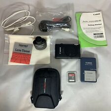 Canon PowerShot GLPH 300 HS / IXUS 220 HS Digital Camera Black In Carrier Bag