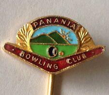 Panania Bowling Club Pin Badge Rare Vintage (K7)