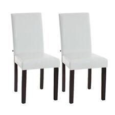 2er Set Esszimmerstuhl Ina dunkelbraun Esszimmer Stuhl weiß