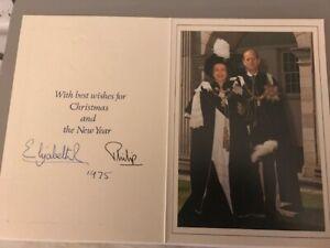 Queen Elizabeth II & Prince Philip + Original signiert