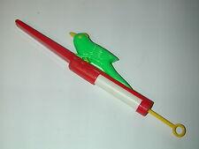 JOUET oiseau rossignol sifflet musical plastic vers 1960