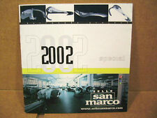 """2002 Selle San Marco Saddle Pamphlet (5"""" x 5"""" and 14 Pages)"""