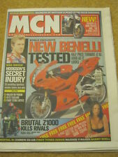 MCN - MOTORCYCLE NEWS - MCN BABE SQUAD - 5 March 2003