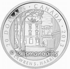 Canada 2013 Group of Seven Artists 4 Toronto Street by Harris $20 Silver Proof