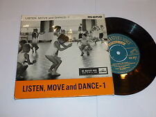 "LISTEN MOVE & DANCE - 1 - Rare Mono UK 7"" Vinyl Single"