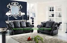 Diana leather  pendragon style 3+1+1 seater sofa