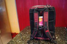 Timbuk2 Q Backpack Laptop School Bag Black Maroon NEW