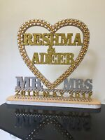 Large Personalised Wedding Day stand/ Decoration / Table Display