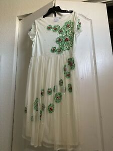 NWT ASOS Maternity  Sequin Embellished Dress, US Size 8