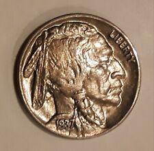 New ListingAuthentic Vintage 1937 Buffalo Bu Nickel
