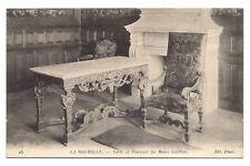 la rochelle  table et fauteuil du maire guitton
