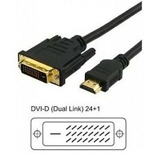 CAVO VIDEO DA HDMI A DVI-D DIGITAL 19 PIN DUAL LINK M/M  3 mt.