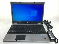 "HP ProBook 6550b 15.6"" Laptop | Intel Core i5 2.53GHz | 4GB | 320GB | Windows 10"