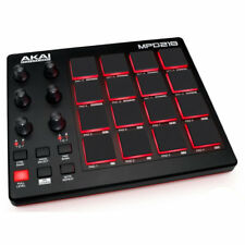Finger Drum Pad Controller Software Professional DJ MIDI Music USB Power PC Mac