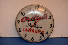 VINTAGE Ortlieb's Premium Lager Beer Clock