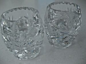 Crystal Candle Tealight Holders Dual Functional