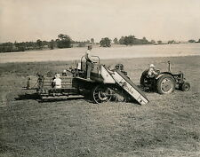 MARYLAND c. 1950 - Tractor CASE Douglas Parks at Texas - USA 66
