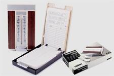 Flip Top Teléfono Retro índice A-Z Libreta de direcciones de las tiendas hasta 400 números Compacto