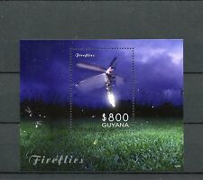 Guyana 2014 Mnh luciérnagas 1v S/s Insectos Firefly