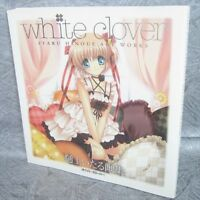 ITARU HINOUE Art Works WHITE CLOVER Illustration Little Busters Japan Book Key *