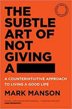 The Subtle Art of Not Giving A by Mark Manson Paperback BRAND NEW