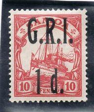 GERMAN COLONIES SAMOA OVERPRINT 10 pf  M.H