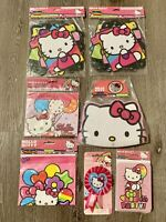 Hello Kitty Party Supplies Bundle Loot Bags Banners Invitations & Masks Ribbon