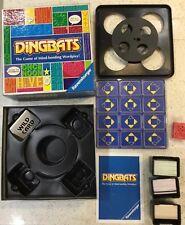 Dingbats - Goliath Brain Teaser Board Game Family Fun Complete In VGC