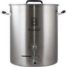 30 Gallon BrewBuilt ™  Kettle - Professional 304 Stainless Pot ~ Free Shipping!