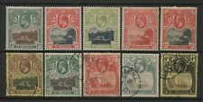 St Helena Collection 10 KEVII / KGV Stamps Used / Unused Mounted