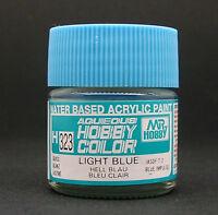 GUNZE SANGYO MR HOBBY AQUEOUS COLOR COLORE ACRILICO LIGHT BLUE BLU CHIARO H323
