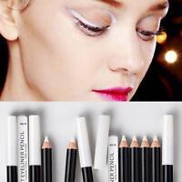 1Pcs White Eyeliner Pencil Eye Liner Pen Waterproof Long Lasting Eye-Brighten