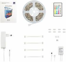 Müller-Licht LED Strip Set 24W RGB 5m 150 LED IR Fernbedienung Steckernetzteil