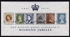 GB 2012 Diamond Jubilee Mini Sheet SG MS3272 MNH