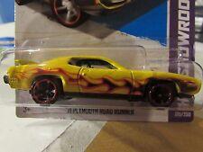 Hot Wheels '71 Plymouth Road Runner HW Showroom Yellow