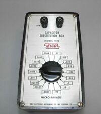 Eico Capacitor Substitution Box Model 1120 Test Equipment
