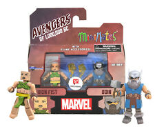 Minimates Marvel Avengers of 1,000,000 BC Iron Fist & Odin Mint in Box